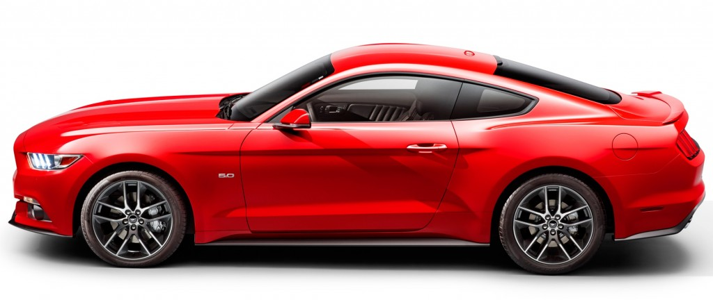 2015 Red Mustang